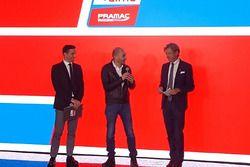 Davide Camicioli and Sandro Donato Grosso, with Claudio Domenicali