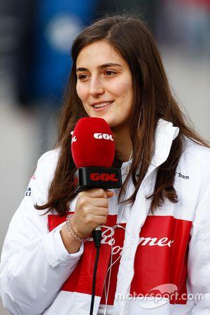 Tatiana Calderón, Alfa Romeo Sauber tercer piloto