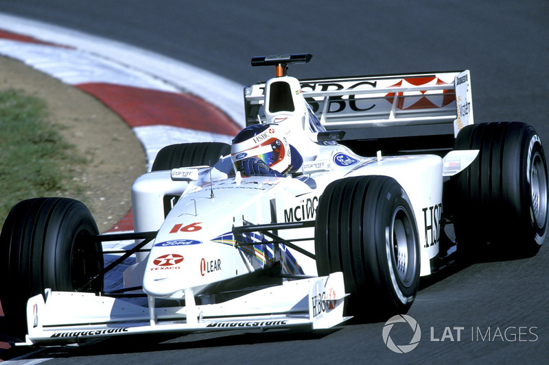 Rubens Barrichello, Stewart Ford SF3