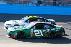 Daniel Hemric, Richard Childress Racing Chevrolet and Blake Koch, Kaulig Racing Chevrolet