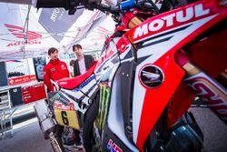 Презентация Monster Energy Honda Team