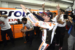 Worldchampion Marc Marquez, Repsol Honda Team celebrate with the team