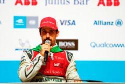Lucas di Grassi, Audi Sport ABT Schaeffler, nella conferenza stampa post gara