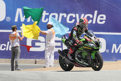Jonathan Rea, Kawasaki Racing celebration