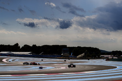 Kevin Magnussen, Haas F1 Team VF-18, Sebastian Vettel, Ferrari SF71H, Charles Leclerc, Sauber C37