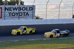 Cody Coughlin, GMS Racing, Chevrolet Silverado Jeg's.com and Dalton Sargeant, GMS Racing, Chevrolet Silverado Performance Plus Motor Oil