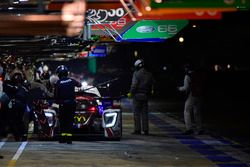 #23 Panis-Barthez Competition Ligier JSP217 Gibson: Timothé Buret, Julien Canal, Will Stevens, pit stop