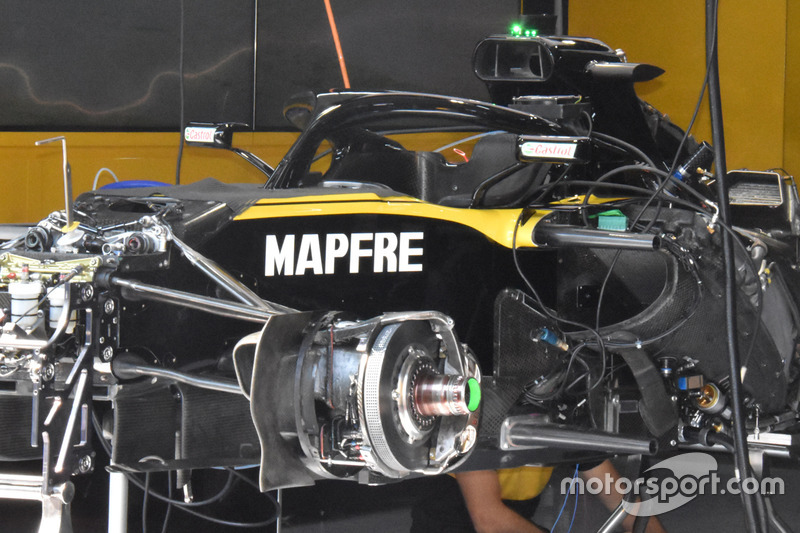 Renault Sport F1 Team R.S. 18 chassis detail