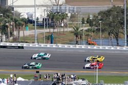 Brandon Jones, Joe Gibbs Racing, Juniper Toyota Camry e Brandon Brown, Brandonbilt Motorsports, CONO