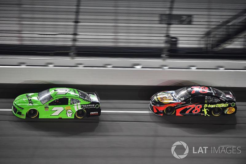 Su posición de salida en Daytona 500