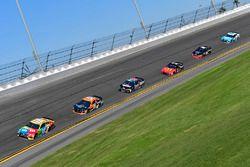 Kyle Busch, Joe Gibbs Racing Toyota, Justin Marks, Rick Ware Racing, HARRY'S Chevrolet Camaro, Matt