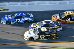 Ricky Stenhouse Jr., Roush Fenway Racing Ford Fusion, Brendan Gaughan, Beard Motorsports Chevrolet C