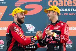 Podium: Shane van Gisbergen, Triple Eight Race Engineering Holden, Jamie Whincup, Triple Eight Race Engineering Holden