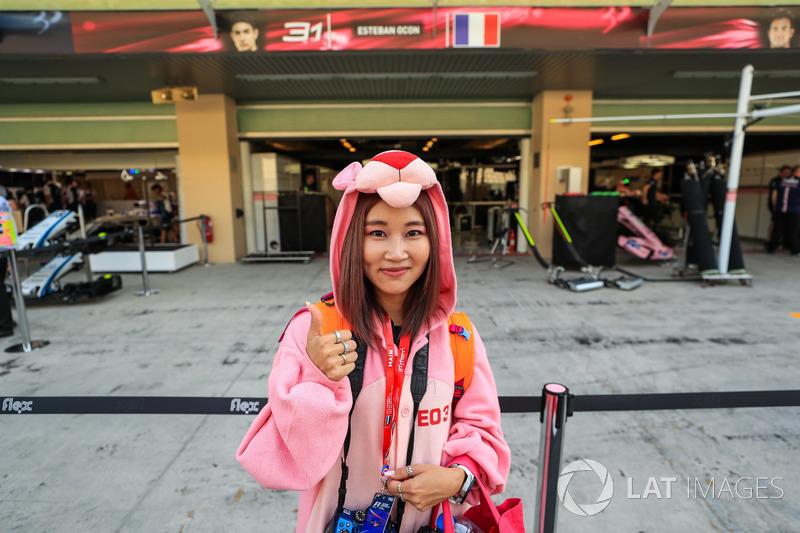 Sahara Force India fan