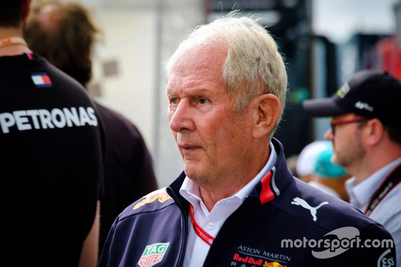 Helmut Marko, Consultant Red Bull Racing