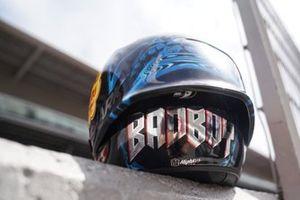 Helm im Sonderdesign: Jorge Lorenzo, Repsol Honda Team