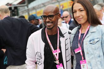 Mo Farah, athlete on the grid