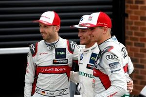 Победитель Марко Виттман, BMW Team RMG, второе место – Рене Раст, Audi Sport Team Rosberg, третье место – Нико Мюллер, Audi Sport Team Abt Sportsline