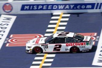 Brad Keselowski, Team Penske, Ford Mustang Discount Tire