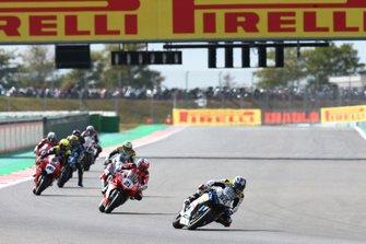 Alessandro Del Bianco, Althea Racing, Michael Ruben Rinaldi, Barni Racing Team WorldSBK race1