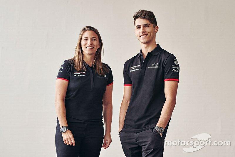 Simona De Silvestro, Porsche Formula E Team, Thomas Preining, Porsche Formula E Team