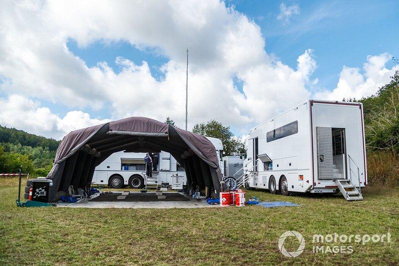 Test M-Sport Ford Fiesta WRC
