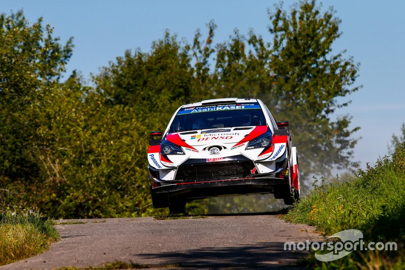 FIA World Rally Championship 2019 / Round 10 / Rallye Deutschland / 22-25 August, 2019 // Worldwide Copyright: Toyota Gazoo Racing WRC