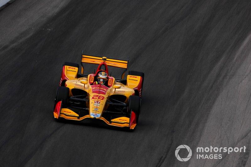 8. Ryan Hunter-Reay, Andretti Autosport Honda