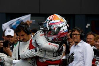 Nico Müller, Audi Sport Team Abt Sportsline and René Rast, Audi Sport Team Rosberg