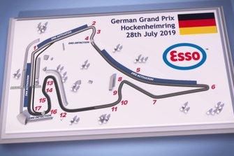 Hockenheimring circuit graphic