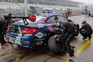 #181 Team AVIA Sorg Rennsport BMW M4 GT4: Heiko Eichenberg, Erik Johansson