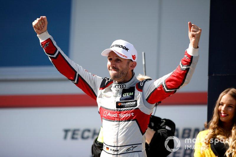 2019 şampiyonu René Rast, Audi Sport Team Rosberg