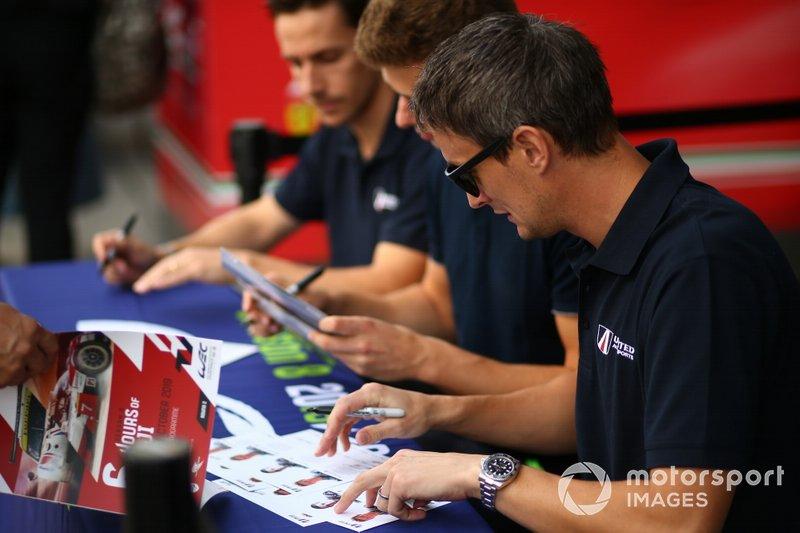 #22 United Autosports Oreca 07 Gibson - Philip Hanson, Filipe Albuquerque, Oliver Jarvis