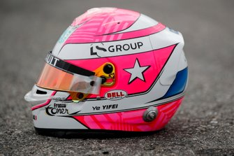 Casco tributo a Anthoine Hubert de Ye Yifei, Hitech Grand Prix