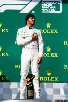Racewinnaar Lewis Hamilton, Mercedes AMG F1