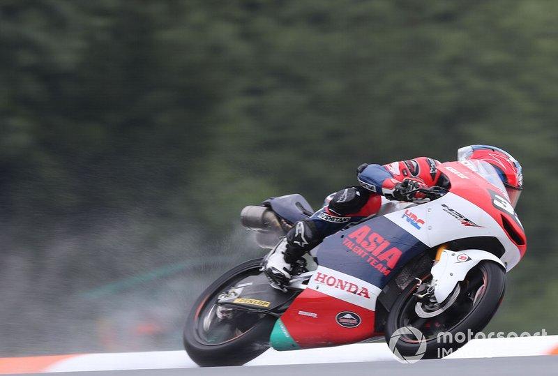 #92 Yuki Kunii, Honda Team Asia