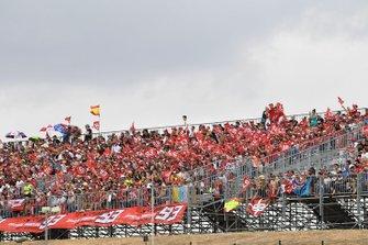 Fan alla gara del GP d'Aragon