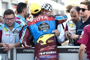 Polesitter Alex Marquez, Marc VDS Racing, mit Marc van der Straten
