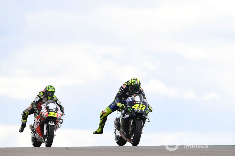 Valentino Rossi et Cal Crutchlow