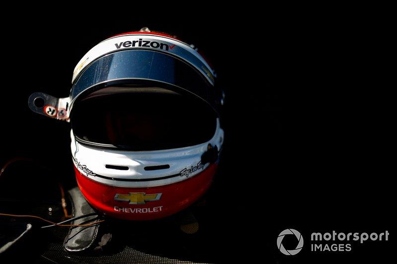 Will Power, Team Penske Chevrolet, helmet