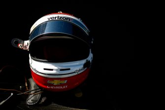 Will Power, Team Penske Chevrolet, helmet