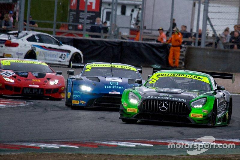 #8 Team ABBA Racing Mercedes-AMG GT3: Richard Neary, Adam Christodoulou