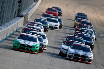 Austin Cindric, Team Penske, Ford Mustang MoneyLion and Chase Briscoe, Biagi-DenBeste Racing, Ford Mustang Ford Performance