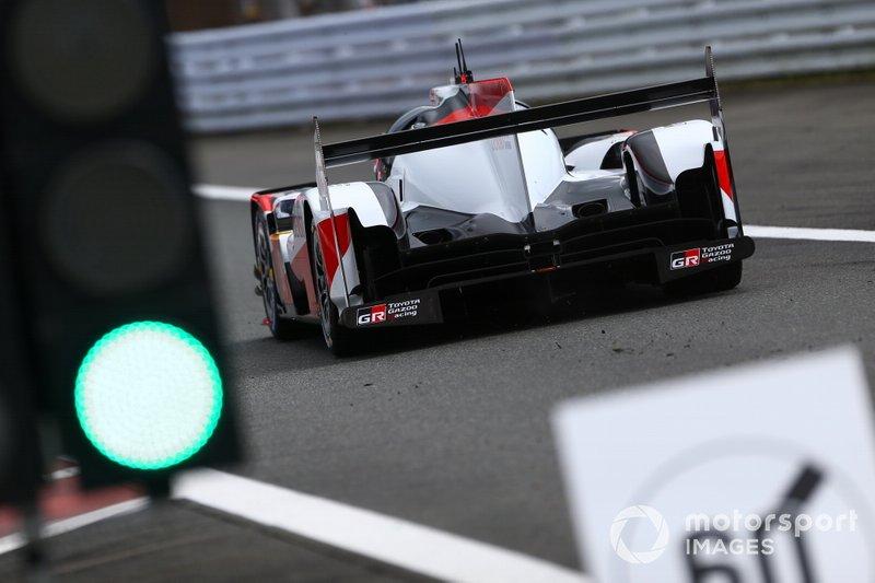 #8 Toyota Gazoo Racing Toyota TS050 - Hybrid: Sébastien Buemi, Kazuki Nakajima, Brendon Hartley