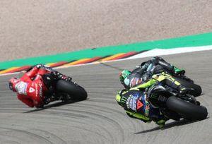 Franco Morbidelli, Petronas Yamaha SRT, Valentino Rossi, Yamaha Factory Racing