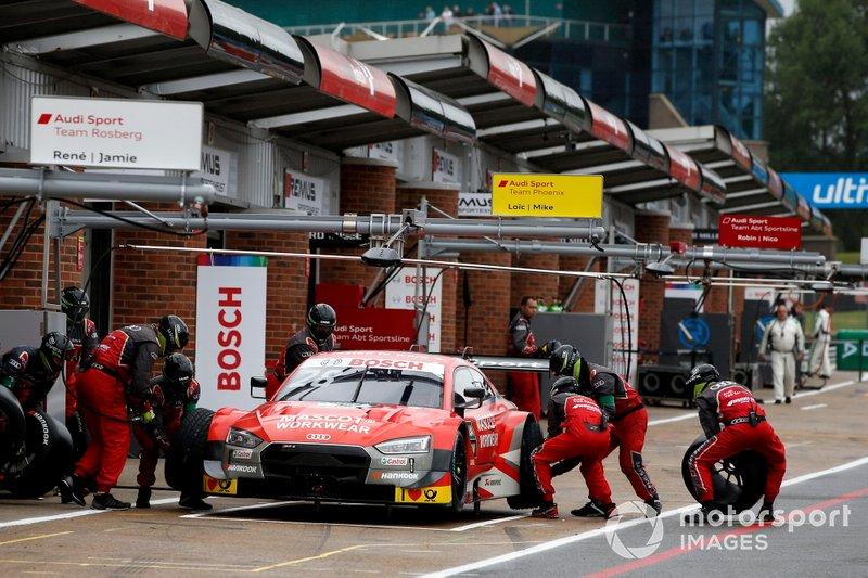 Pitstop, Loic Duval, Audi Sport Team Phoenix, Audi RS 5 DTM