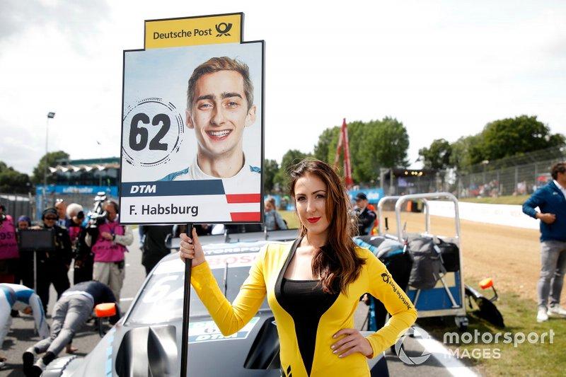 Ferdinand Habsburg, R-Motorsport grid kızı