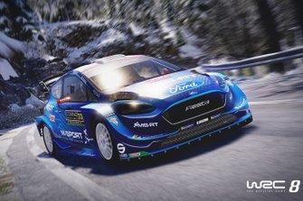 Le jeu WRC 8