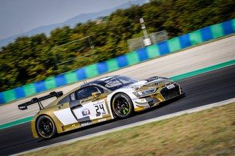 #24 Sainteloc Racing Audi R8 LMS GT3: Dorian Boccolacci, Stéphane Ortelli