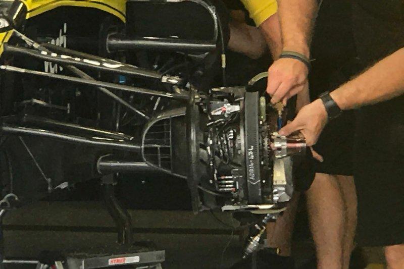 Detalhe do freio da Renault
